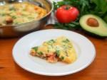 bacon lobster omelette
