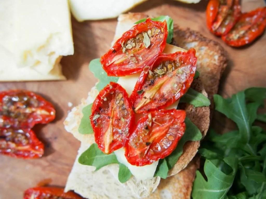 Slow roasted tomatoes #SundaySupper