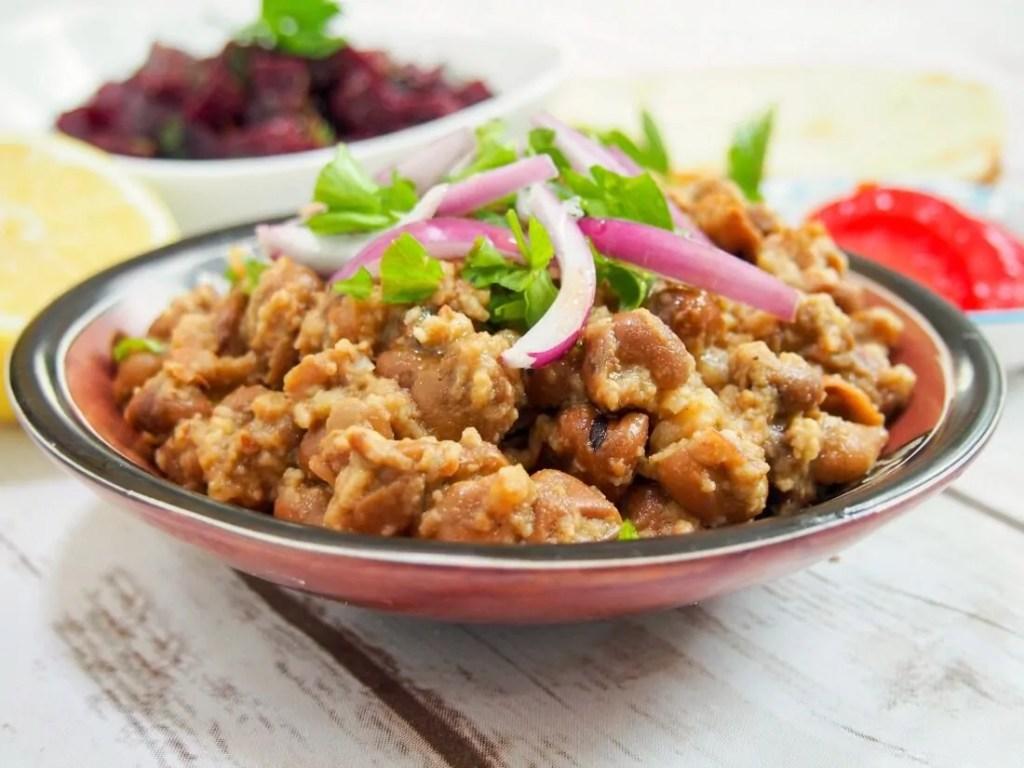 Ful medames (Egyptian fava beans) #EatLikeAnEgyptian