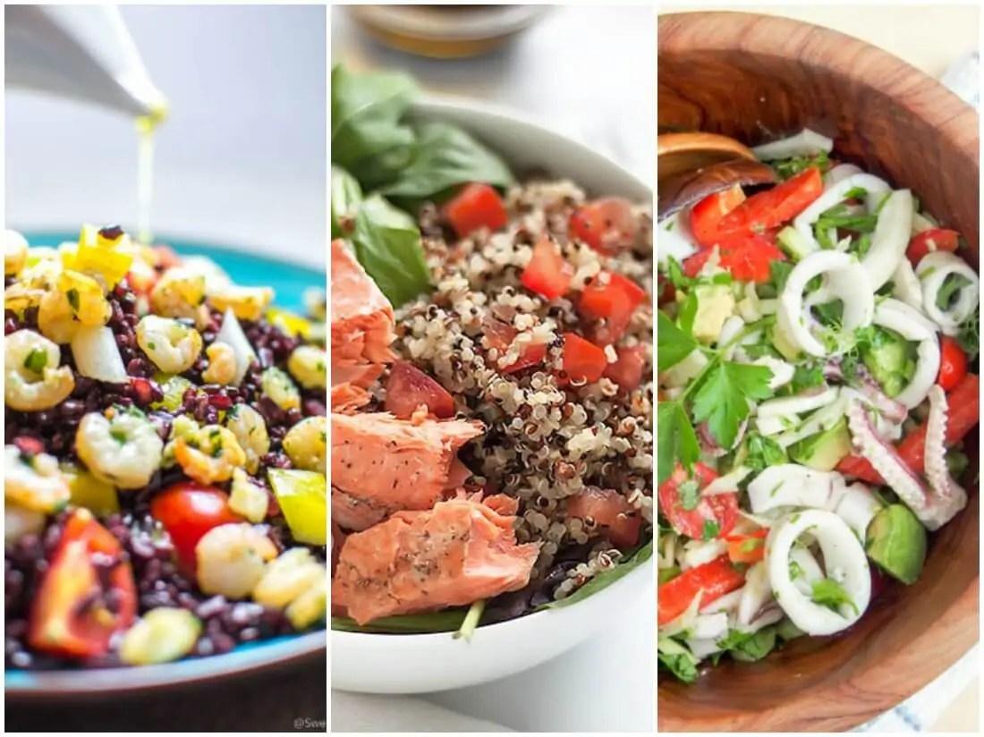 seafood salads - make ahead salads