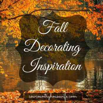 8 DIY Fall Decorating Inspiration