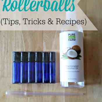 Essential Oil Rollerballs - Tips, Tricks and Recipes, how to make essential oil roller bottles, how to make essential oil roller bottles