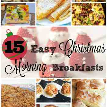 15 Easy Christmas Morning Breakfasts