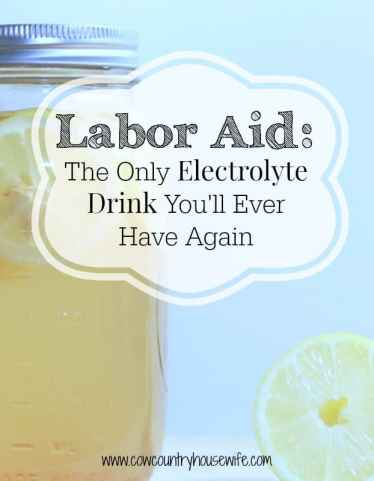 When I had my homebirth, I needed something to keep my energy up during my loooooong labor. This kept me going in the worst and hardest parts of labor. What's even better, this is the same recipe that I use for when anyone in my family needs electrolytes!