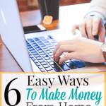 6 Easy Ways to Make Money From Home