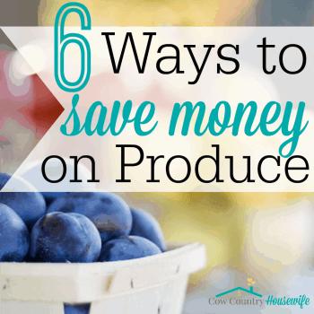 6 Ways to Save on Produce