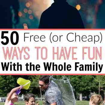 Free (or Cheap) Ways To Have Fun With Your Family