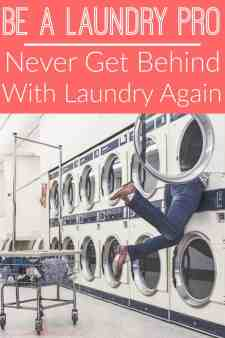 If you're always buried under piles of dirty clothes, you need to try out these laundry tips! They changed the way I do laundry!