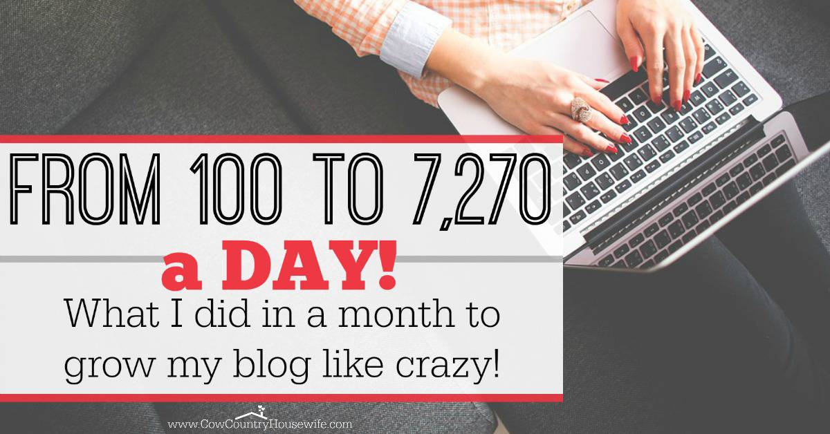 She grew her blog so much in such a short amount of time! Her steps for growing a blog look so easy, too. I can't wait to try them out for my own blog!
