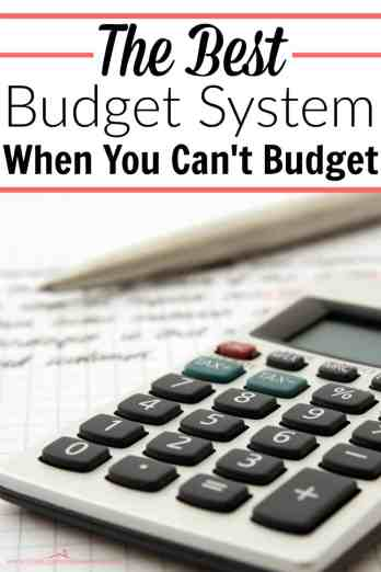 If you can't budget, this is the best way I've seen to stick to a budget! It's genius!