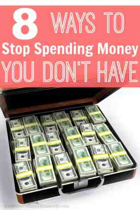 Living paycheck-to-paycheck is the worst! These tips helped a family of 4 living off of $17,000 buy a house, 2 cars, and build a savings account in one year! If she can do it, so can I!! Stop spending money you don't have! These are great! How to stop spending money you don't have. How to get your budget on track. How to get control of your finances. Saving money tips. Personal finance tips. Get control of spending. How to go from being a spender to a saver. How to save more money. Stop spending money tips. Stop spending money you don't have. Stop spending money you don't have tips. Frugal living tips.