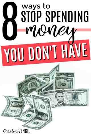 These are great! How to stop spending money you don't have. How to get your budget on track. How to get control of your finances. Saving money tips. Personal finance tips. Get control of spending. How to go from being a spender to a saver. How to save more money. Stop spending money tips. Stop spending money you don't have. Stop spending money you don't have tips. Frugal living tips.