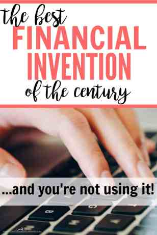 I can't believe I haven't been doing this for years! She's right about it being the best financial invention of the century. I still can't believe I've been overlooking this for so long.