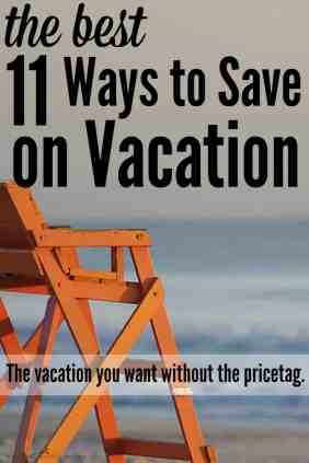 Save thousands on your next vacation using these tips! These are so great!! I can't wait to do this for my vacation! The best ways to save on a vacation! She seriously saves thousands and goes on great vacations. Great ways to save money and find deals on vacation.
