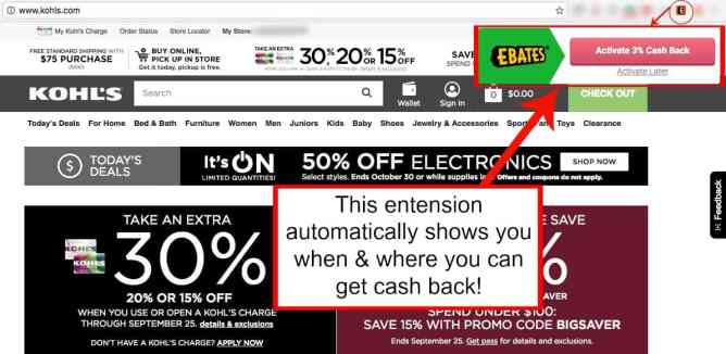 how to add ebates to chrome