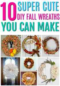Oh my gosh these are SO cute!! I think that I can even make these! LOVE that burlap one and the book pages. Those would be perfect for the entire season and even beyond into Christmas, too! Super cute and easy DIY wreaths that I can make at home on a budget!