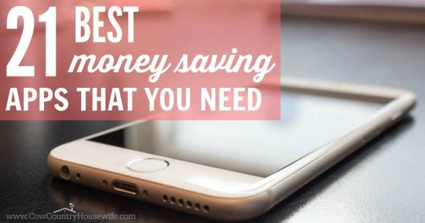 The best money saving apps. Saving money using your smartphone. Apps that save money.