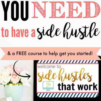 Why You Need to Side Hustle