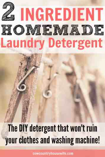 ... This is the best homemade laundry detergent that I've ever used! I'