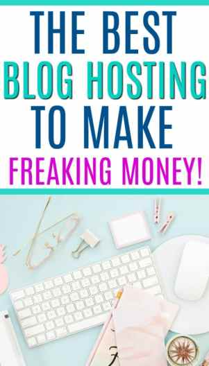 If you want to make money blogging as a full time blogger, then you nEED to have great hosting. But how to you start a blog when you don't know what you're doing? Here's what you need to know before you start a blog for profit as a stay at home mom or a working mom. The Best Blog Hosting Sites for Making Money