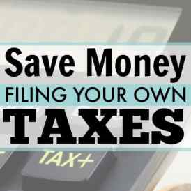 How i save money filing my own taxes save money by filing your own taxes filing taxes has never been easier and solutioingenieria Image collections