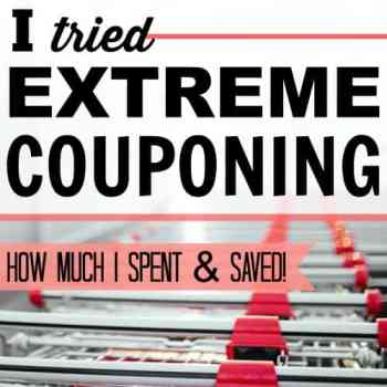 I Tried Extreme Couponing for a Month: How Much I Spent and Saved