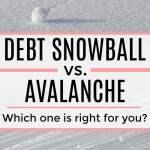 Debt Snowball vs. Avalanche