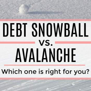What's the best way to get out of debt? The best method to get out of debt. Debt Snowball vs. Debt Avalanche? Find out the best way to get out of debt for you and your budget!