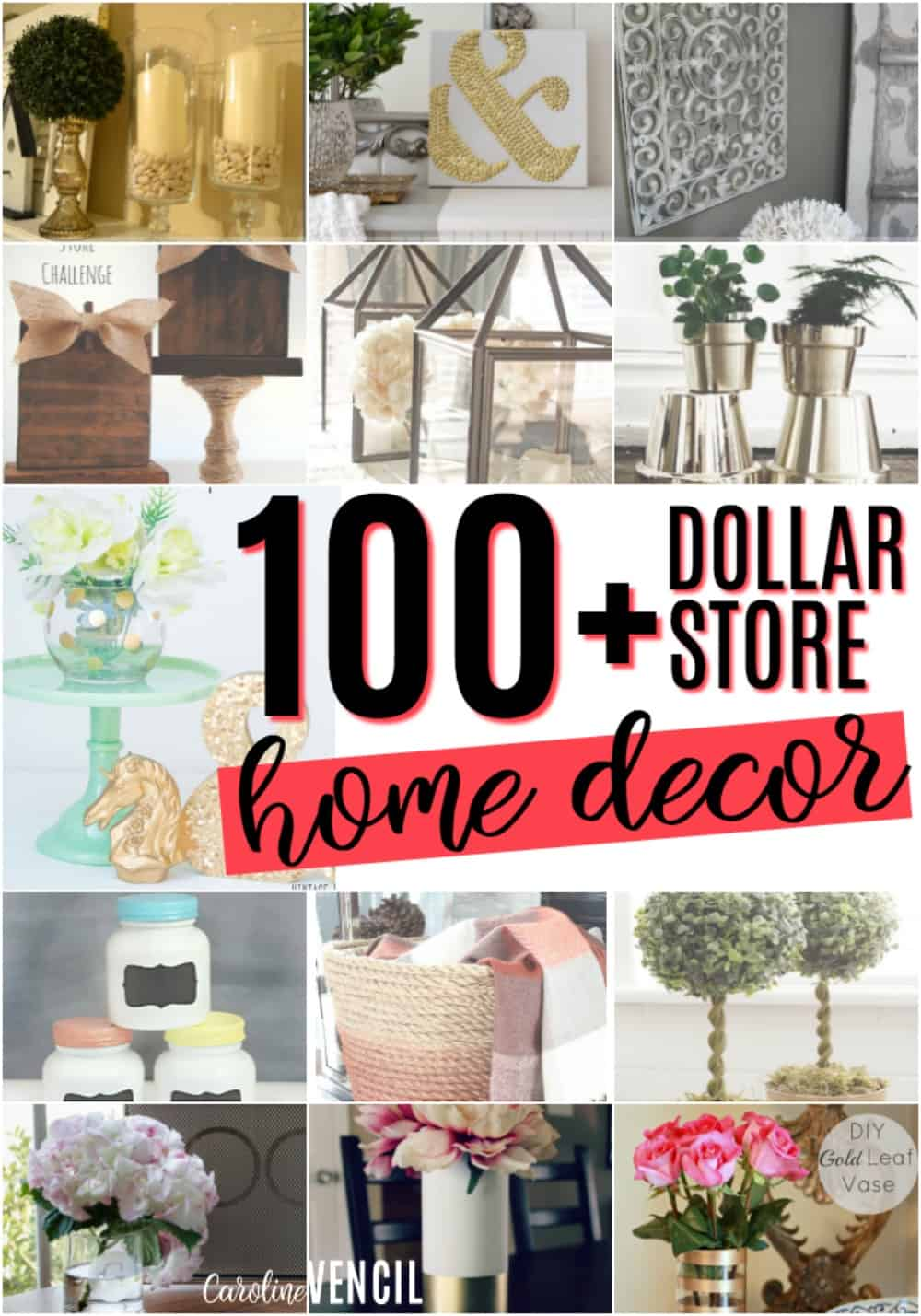 These Dollar Store Decor Hacks Are THE BEST! Iu0027m So Glad I Found