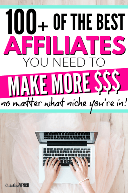 How to Start Using Affiliate Marketing For a New Blogger (Especially if you suck at sales!) The best affiliate programs to join for bloggers in every and any niche that will make money for your blog and be profitable. Everything you need to know about selling with affiliate and using affiliate marketing for bloggers and online entrepreneurs. Best tips, tricks and ideas to start using affiliates.