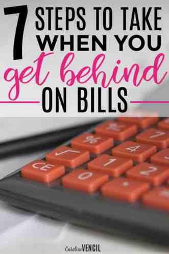 These are amazing! I love how she talks about bills and finances! She just always gets it. What Do You Do When You Get Behind on Bills. Steps to take when you can't pay your bills. What to do when you can't pay your bills. Family finance. Steps to take when you get behind on bills. When you can't afford to pay your bills. What do you do when you can't afford your bills. How to make more money at home. make money fast.