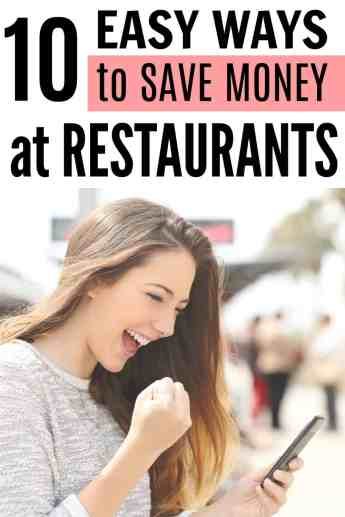 These are so great! I had no idea there were so many ways to save money at restaurants! She's found all of the best places to get deals on restaurants no matter where you live. How to save money going out to eat. Going out to eat on a budget. How to get dinner on a budget. Saving money at a restaurant. Easy ways to save going out to dinner. Going out to dinner and saving money. Never Pay Full Price at Restaurants