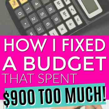 Fixing a Budget that Spends More Than We Make
