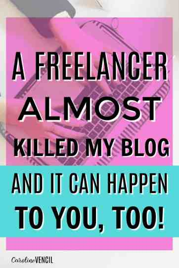 WOAH! I had no idea that this was even possible! Bloggers NEED to read this! Seriously. This is the absolute scariest situation for any blogger. I'm going to look into this so much more. This is really scary. Bloggers need to read this when they start bringing in freelancers.