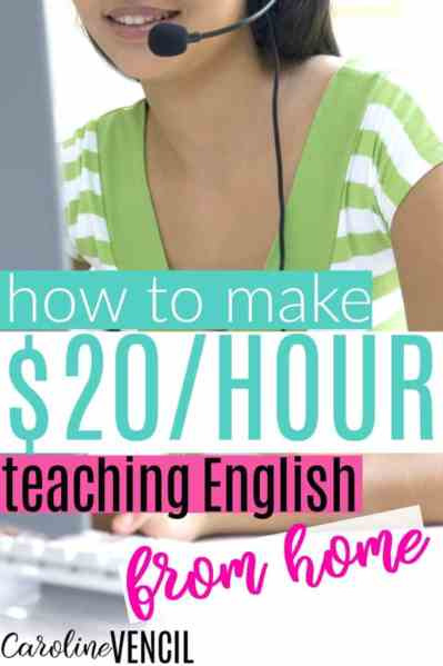 This is SO COOL! I had no idea that you could make money form home like this! If you need to find a way to make money from home, this is it! You're going to LOVE this! You can actually make money from home teaching English from your computer! It's a great way to earn money as a stay at home mom. Seriously I can't wait for my interview! This is the best blog for finding ways to make money from home!