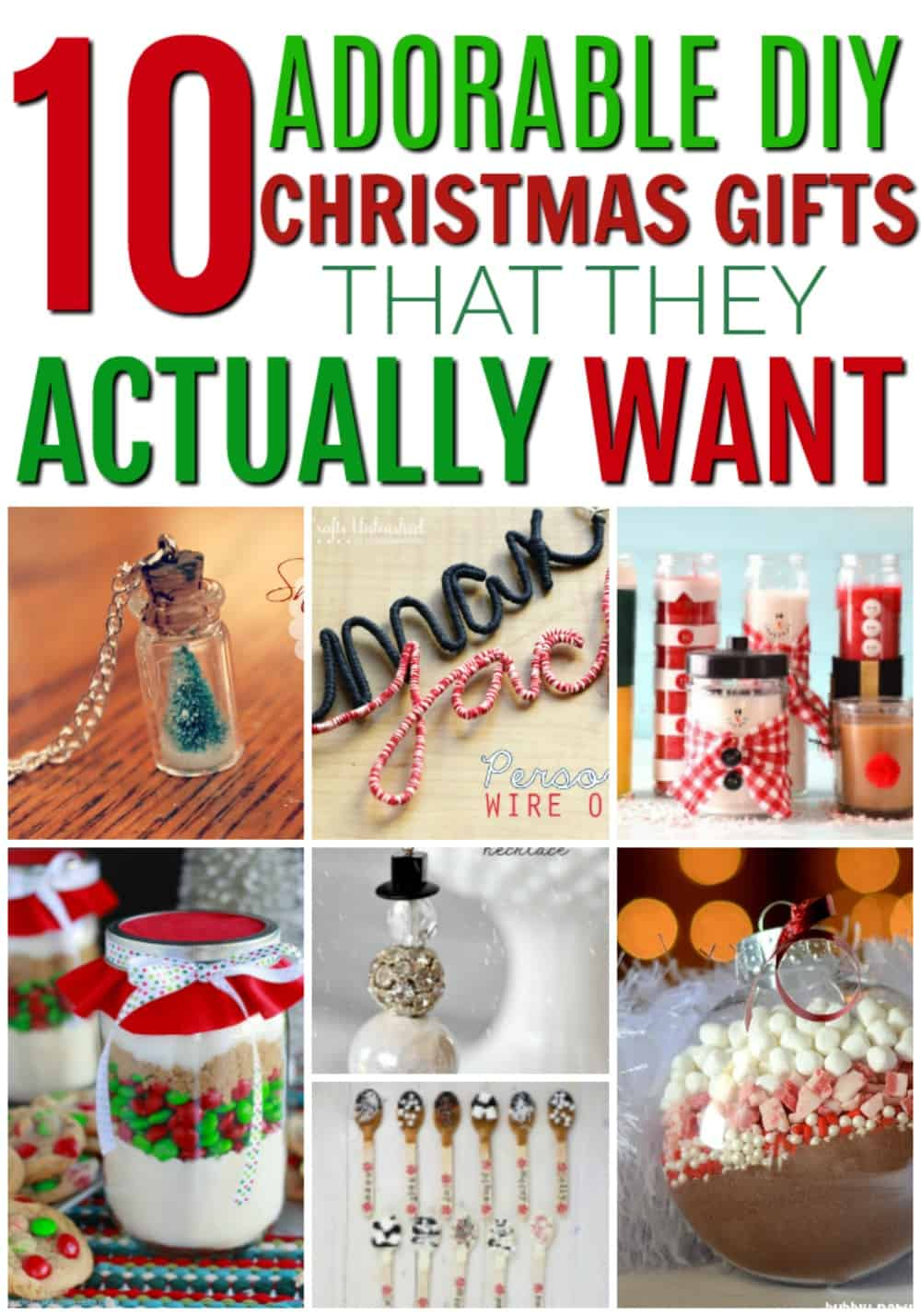 Diy Christmas Gifts That People Will Love