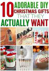 These are so great! DIY Christmas gifts that people will actually want! Great gifts that you can make at home yourself. DIY holiday gifts. Christmas on a budget. How to have a debt free Christmas. Save money and make gifts for Christmas instead of buying them. DIY Christmas gifts that they will actually want.