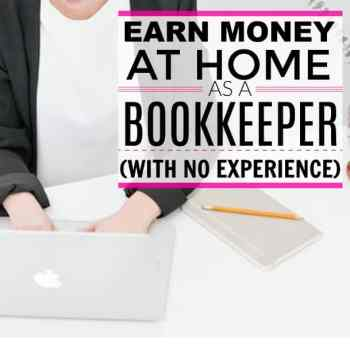 Make $40,000 per Year From Home as a Bookkeeper