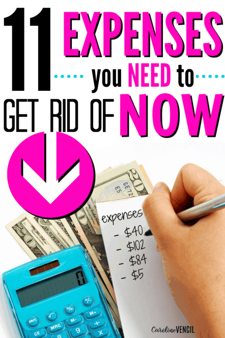 Expenses to Stop Spending Money on to Save Money and Live Frugally. How to start saving and stop spending money for beginners who need to find new ways to save and tips and tricks and ideas on how to live frugally.