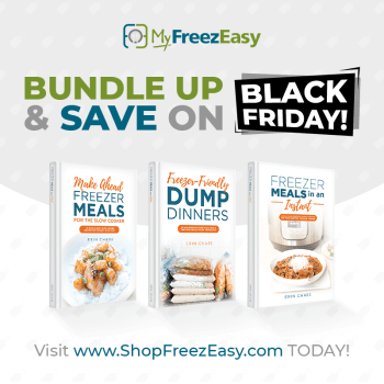 Early Black Friday Deal –20% off Delicious Meal Planning Tools!