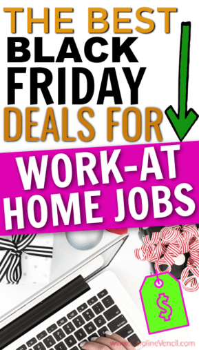 The best Black Friday and Cyber Monday beads and sales for work at home jobs and places to learn how to make money from home. These are perfect for stay at home moms looking to make extra money and bring in an extra income.