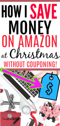 How I Save Money on Amazon at Christmas without Couponing. How to save money when you shop on Amazon around the holidays and Christmas and all year. The best ways to save big on Amazon all the time that you can do so easily. I never knew Amazon hack #4!