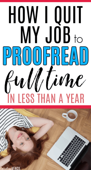 How to Make $3000 a Month Working from home as a Full Time Proofreader working at home. How I make money quickly and easily working from home as a busy mom of little kids. I don't have a lot of free time, so this is a great side hustle to make a full time income. Caitlyn Pyle shares her secrets in this free training! How I Quit My Job to Proofread Full Time