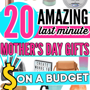 Best Last Minute Mother's Day Gifts on a Budget. Perfect and amazing gifts for mom that you can get from Amazon fast this year. Perfect gift ideas for mom that she'll love and actually use.
