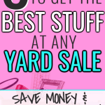 Best Tips for Getting the Best Deals at Garage Sales