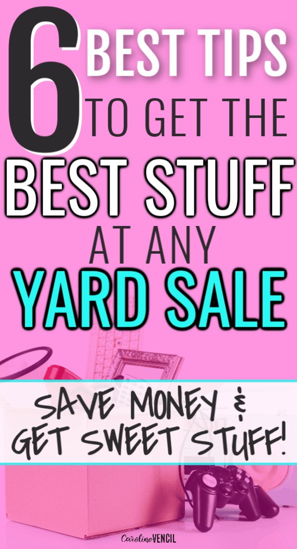 ba178a204b3 Best Tips for Garage Sales to Get the Best Deals. Awesome and easy tips and