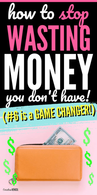 How to stop wasting and spending money you don't have on expenses you don't need to spend money on. The best tips tricks and ideas to help stay on budget for beginners who need to start a budget the easy way.