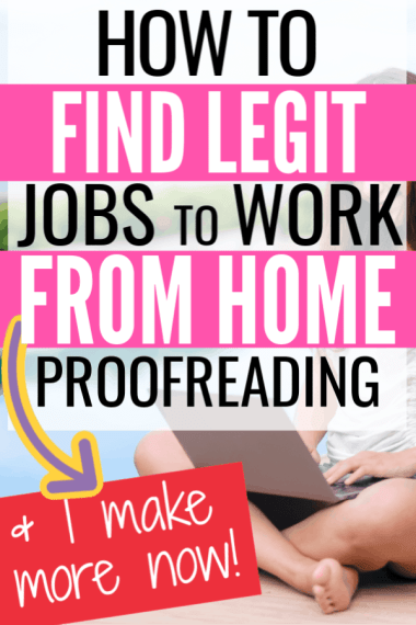 How to Work from home and find jobs proofreading. Women working from home by the pool on a laptop