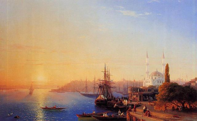 800px-Ivan_Constantinovich_Aivazovsky_Panorama_of_Constantinopole Author's Blog History Ottoman Empire Travel