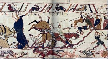 Bayeux_Tapestry_Horses_in_Battle_of_Hastings-300x166 Author's Blog Guest Author Highlighting Historical